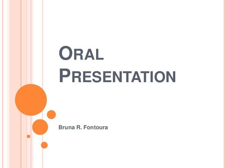 Oral Presentations Topics 90