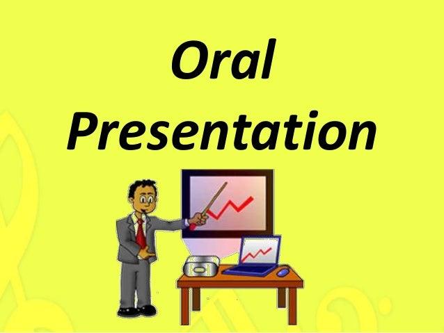 Oral Presentations Topics 91