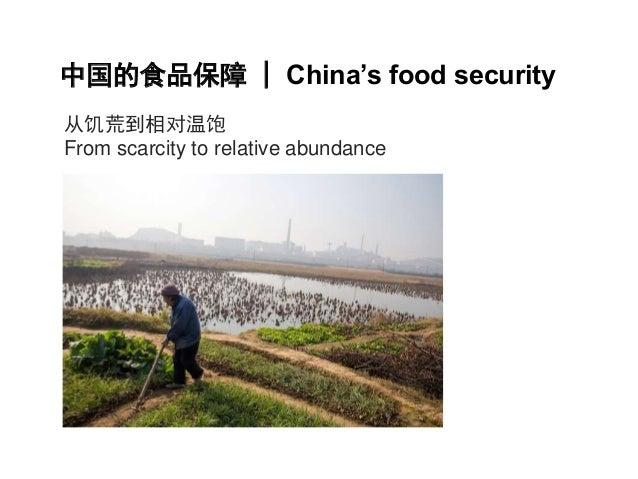 中国的食品保障| China's food security  从饥荒到相对温饱  From scarcity to relative abundance