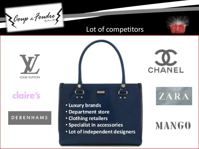 44abd2860d93 Luxury brands • Department store • Clothing retailers • Specialist in  accessories • Lot of independent designers Lot of competitors  12.