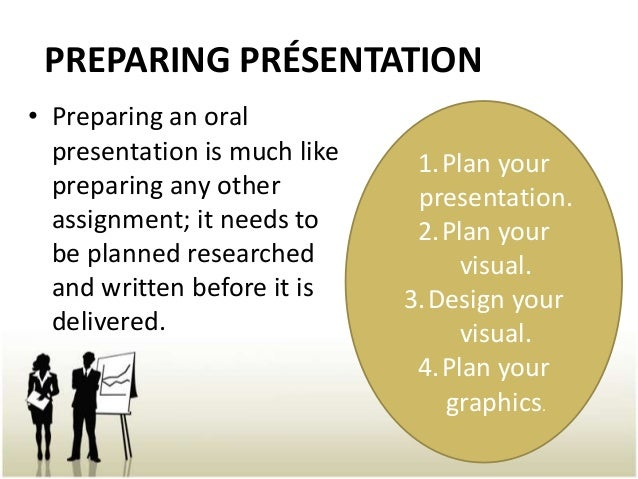 prepare for presentation