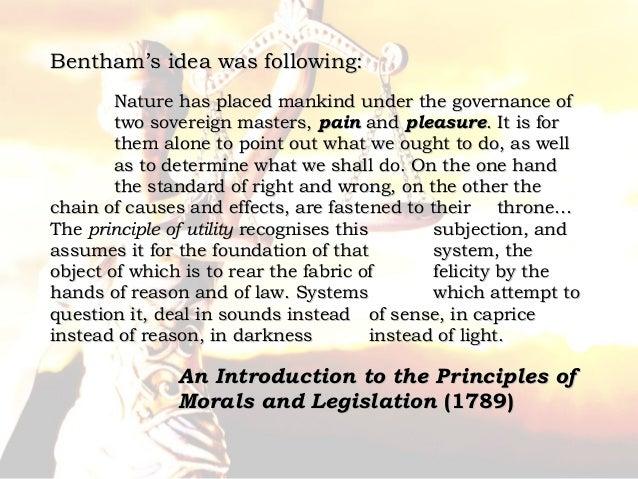 jeremy bentham utilitarianism theory pdf