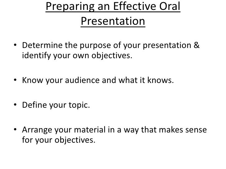 oral presentation skills 2 preparing an effective oral presentation
