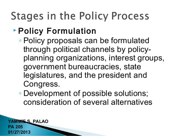 policy making process in healthcare Providing appropriate access to affordable healthcare has  consistent with ache's code of ethics and its policy statement, ethical decision making for.