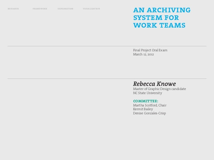 research   framework   exploration   visualization                                                     an archiving       ...