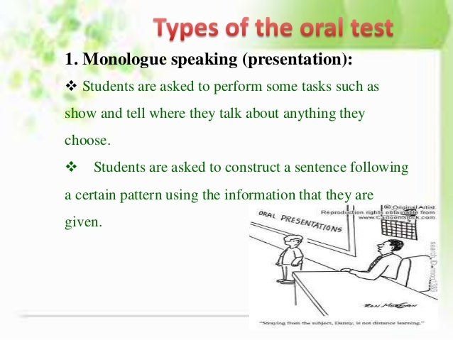 oral test advantages disadvantages Summative evaluation – top 22 advantages and disadvantages by  chapter test, and large-scale  the above listed are few advantages and disadvantages of.