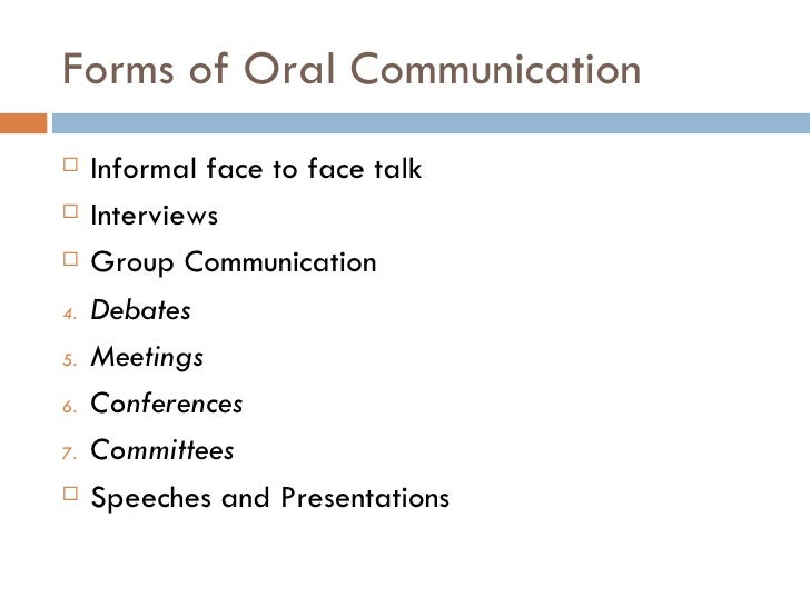 Oral Communication In Business 12