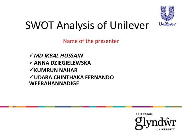 unilever swot analysis essays