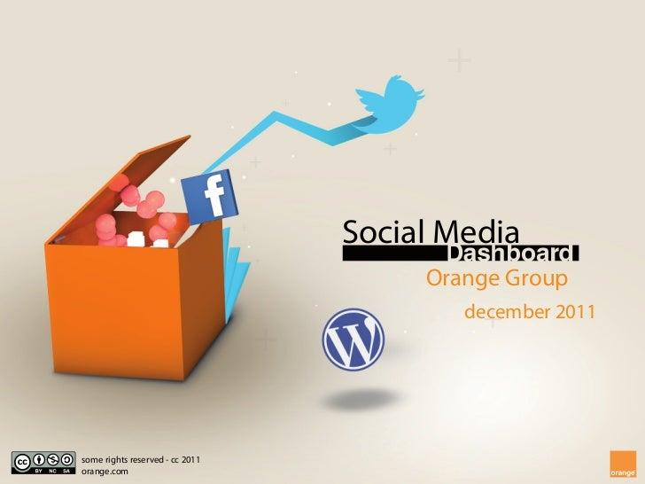 Social Media                                      Orange Group                                         december 2011some r...