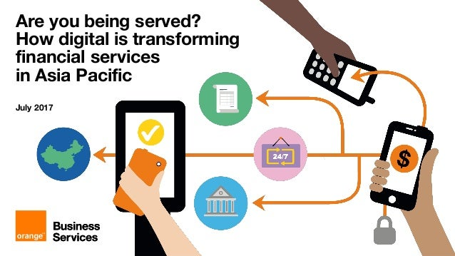 How digital is transforming financial services in Asia Pacific