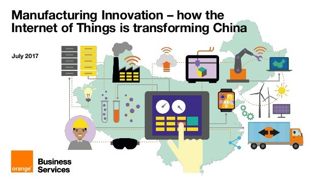 How innovation and the Internet of Things is transforming manufacturing in China