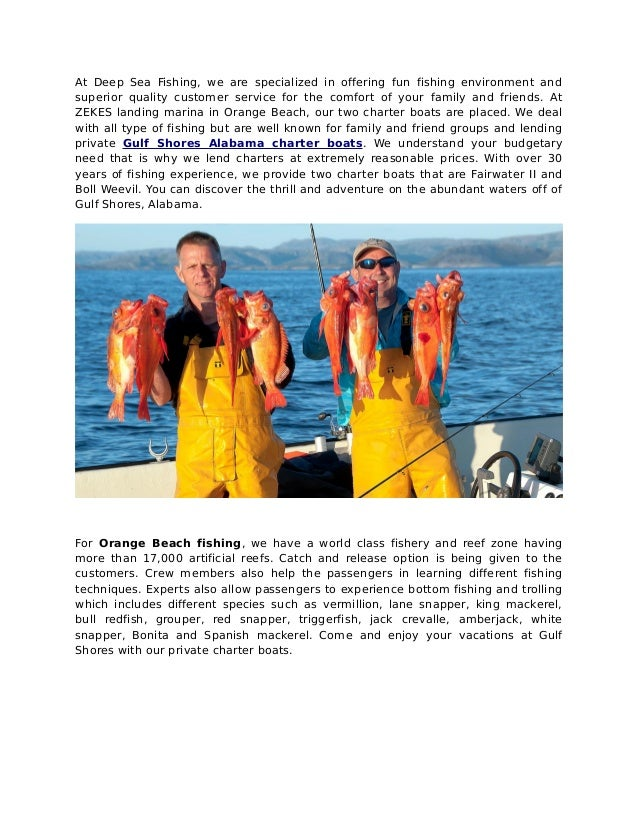 Cook what you hook at gulf shores fishing charters for Gulf shores fishing charters