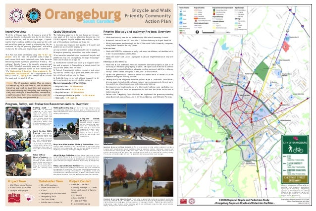 Intro/Overview The City of Orangeburg, SC, the county seat of Or- angeburg County, is characterized by its rich history, n...
