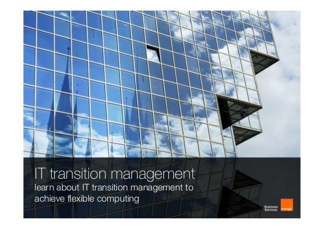 Orange Business Live 2013 cloud breakout