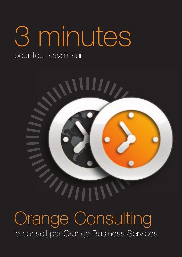 Orange consulting en 3 minutes