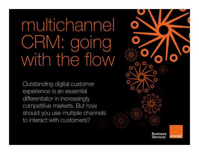 [infographic] multichannel CRM: going with the flow