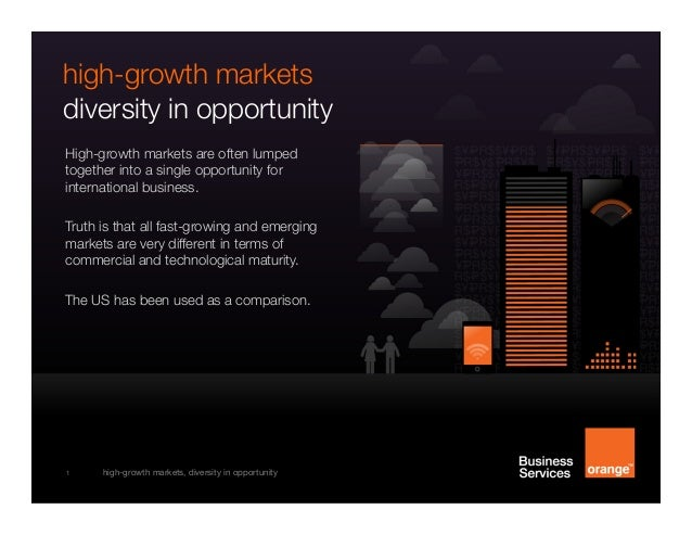 [infographic] high-growth markets: diversity in opportunity