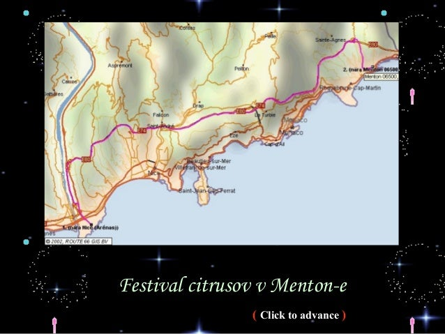 Festival citrusov v Menton-e ( Click to advance )