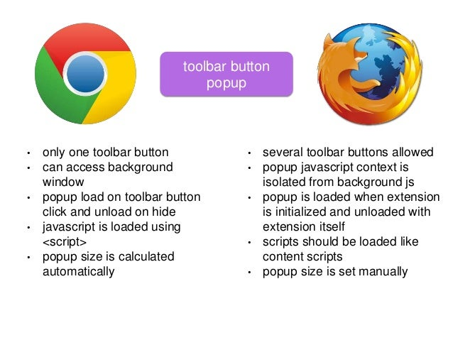 Orange is the new blue: How to port Chrome Extension to