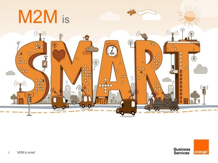 M2M is smart