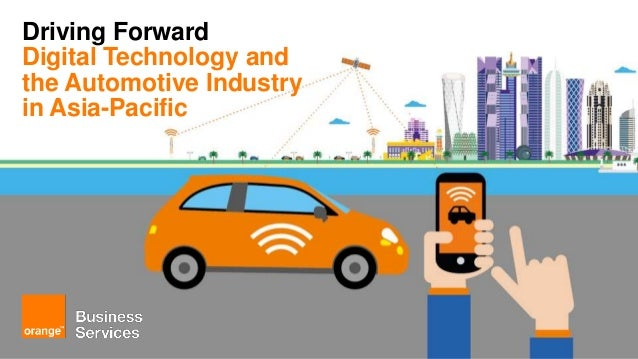 Driving Forward Digital Technology and the Automotive Industry in Asia-Pacific