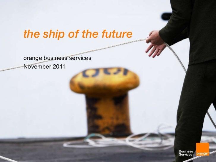 Ship of the Future Via IT Communications