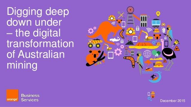 Digging deep - the digital transformation of mining