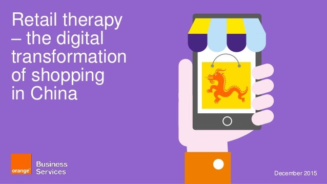 Retail therapy - the digital transformation of shopping