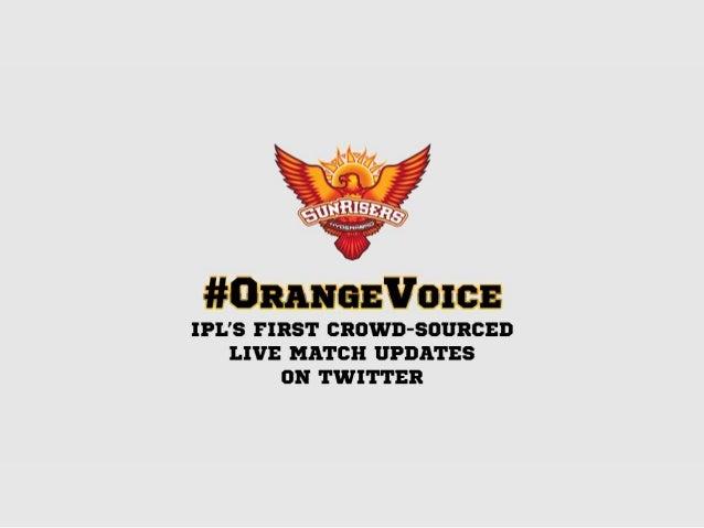 Social Media Case Study: Orange Voice
