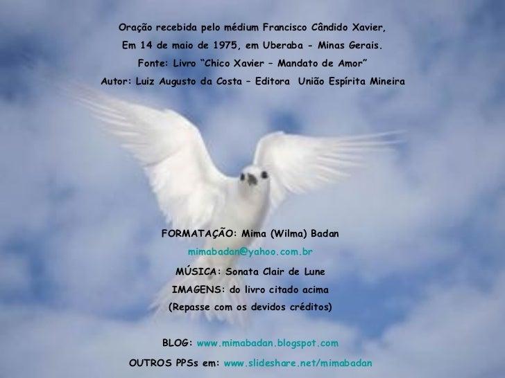 Mensagens e Frases Espíritas: Chico Xavier, Emmanuel