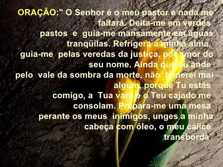 Extremamente Oração salmo 23 SR82