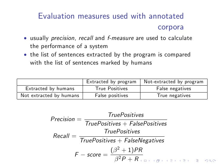 Summary Evaluation Environment (SEE)    • SEE environment was is being used in the DUC evaluations • is a combination betw...