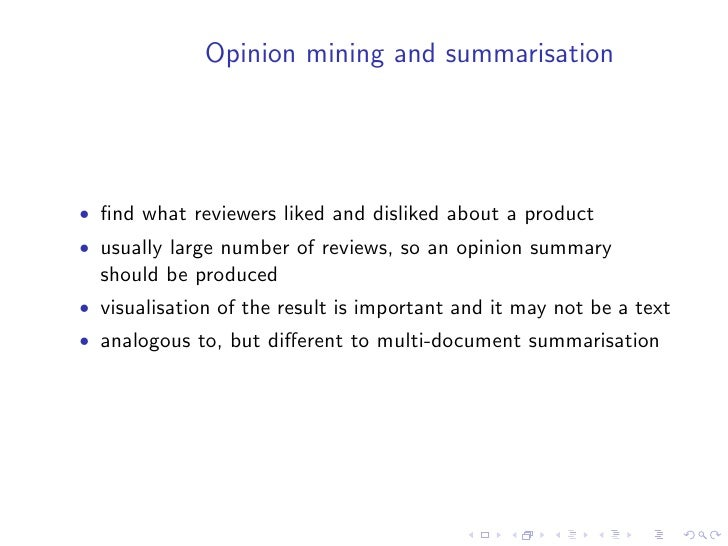 QA and Summarisation at INEX2009   • the QA track at INEX2009 requires participants to answer   factual and complex questi...