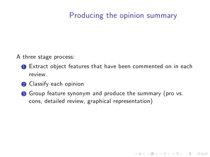 Conclusions     • research in automatic summarisation is still a very active, but   in many cases it merges with other fiel...