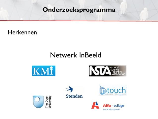 OnderzoeksprogrammaHerkennen             Netwerk InBeeld