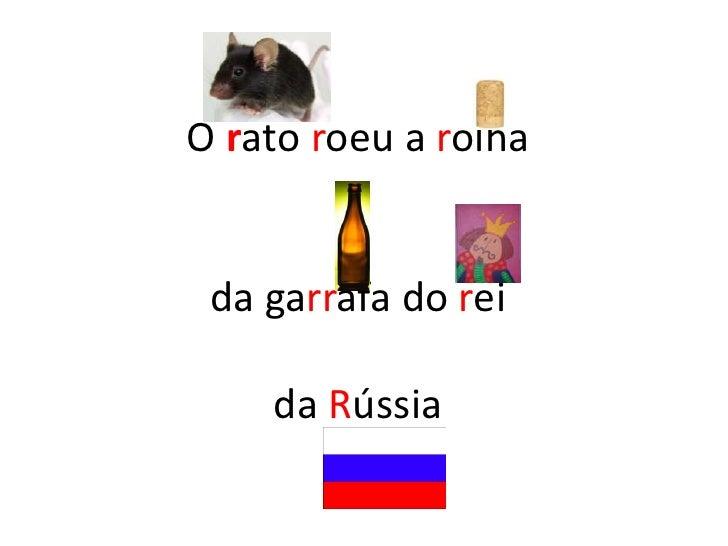O rato roeu a rolha da garrafa do reida Rússia  <br />