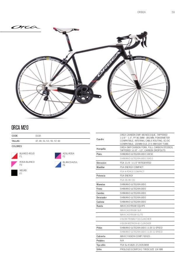 Catalogo Bicicletas Orbea 2015