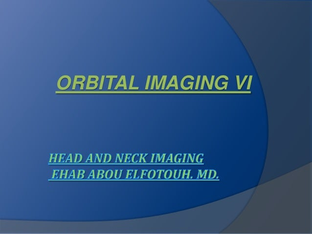 ORBITAL IMAGING VI
