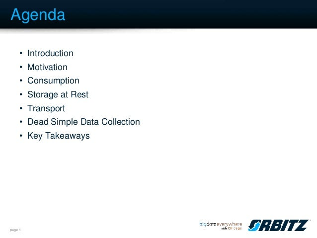 Big Data Everywhere Chicago: When You Can't Start From Scratch -- Building a Data Pipelines with the Tools You Have. An Orbitz Case Study. (Orbitz)  Slide 2