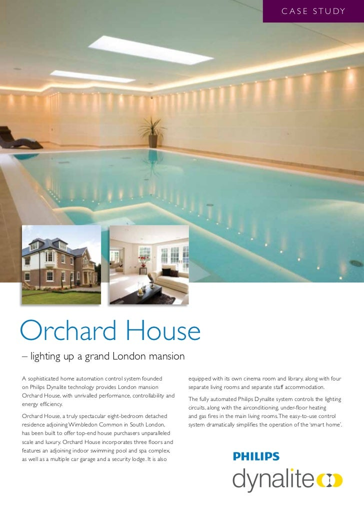 C A S E S T U DYOrchard House– lighting up a grand London mansionA sophisticated home automation control system founded   ...