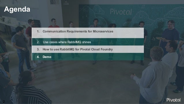 Orchestration Patterns for Microservices with Messaging by RabbitMQ Slide 2