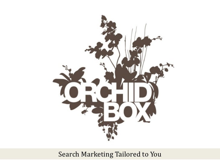 Search Marketing Tailored to You