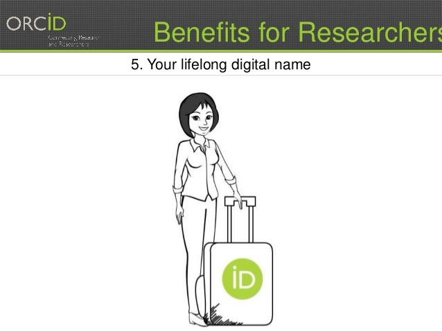 11 5. Your lifelong digital name Benefits for Researchers