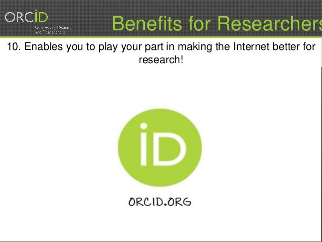 16 10. Enables you to play your part in making the Internet better for research! Benefits for Researchers