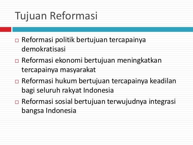 Orde lama, orde baru, dan reformasi