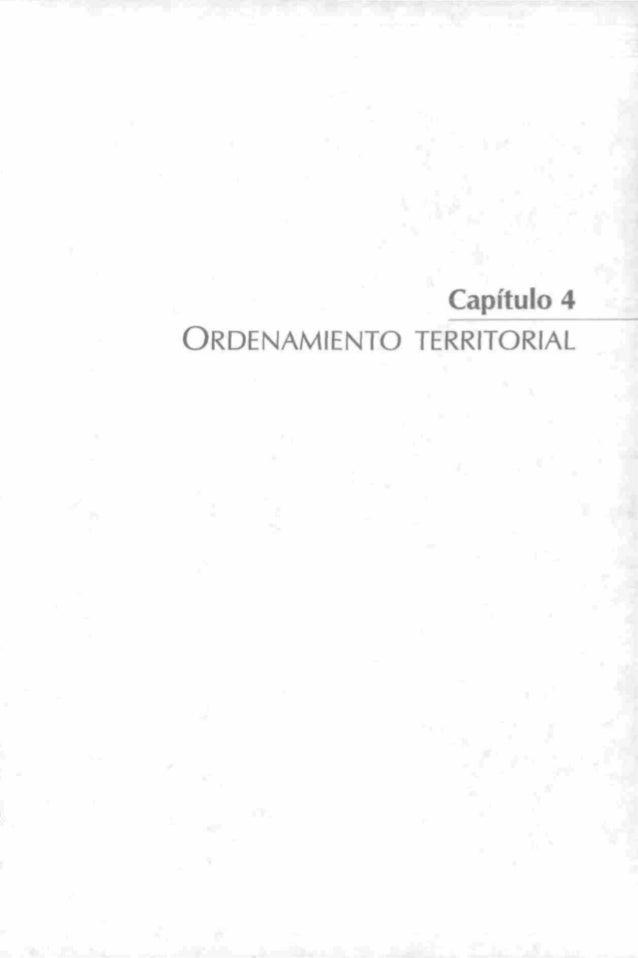 • ' l . . . ^ Capítulo 4 ORDENAMIENTO TERRITORIAL