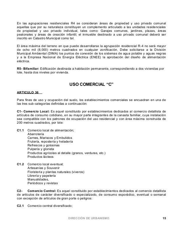 Ordenanza de zonificaci n y urbanizaci n 2012 for Como declarar una piscina en el catastro