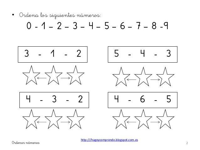 Ordenar números ei Slide 2