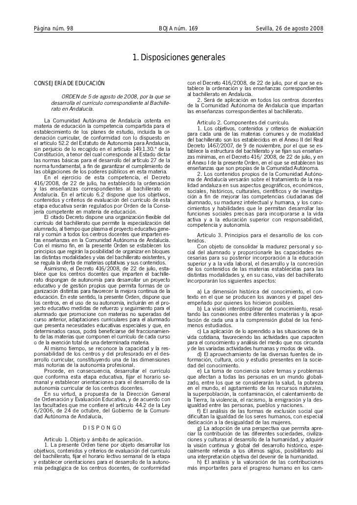 Página núm. 98                                           BOJA núm. 169                           Sevilla, 26 de agosto 200...