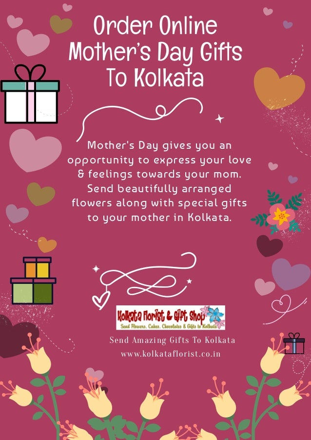 Order Online Mother S Day Gifts To Kolkata